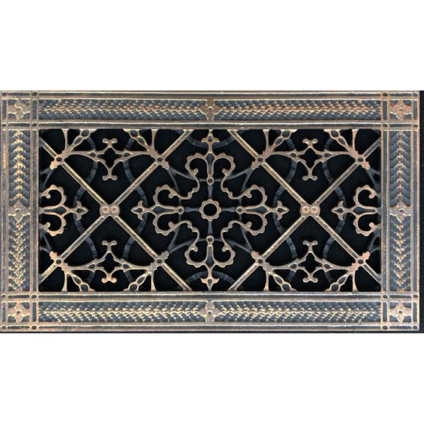"""Decorative Vent Cover Craftsman Style Arts and Crafts Grille Covers a Duct 6""""×12"""""""