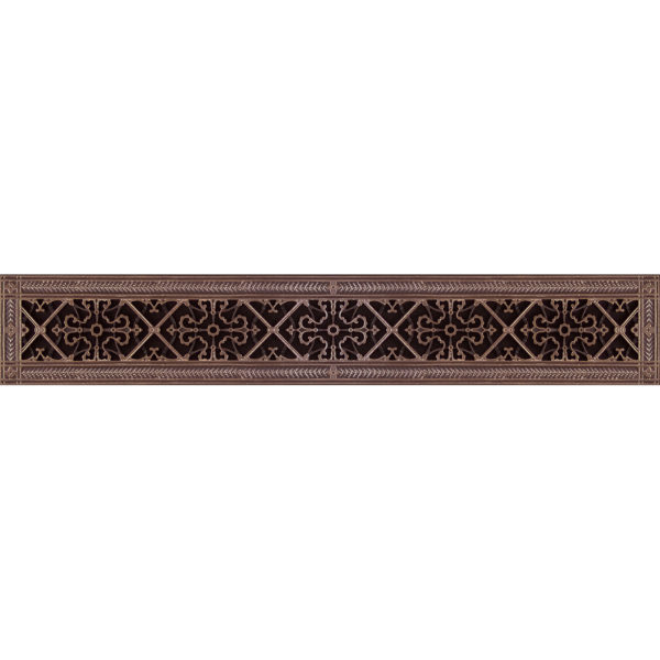 """Decorative Vent Cover Craftsman Style Arts and Crafts Grille Covers a Duct 4""""×36"""""""