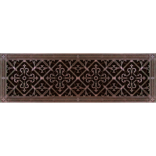 Arts and Crafts decorative grille 8x30