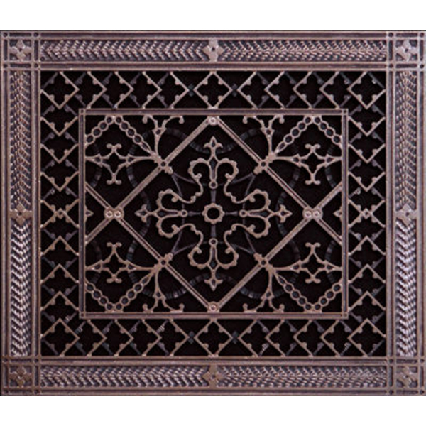 arts and craft decorative grille 10x12 Rubbed bronze