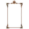 Wall Panel Set in Louis XIV Style includes Single Headpiece, 4 corners and 16' moulding