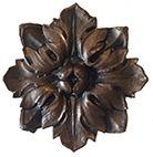 Dark Bronze Ornamentation Finish Sample