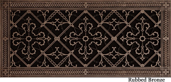 """Decorative Vent Cover Craftsman Style Arts and Crafts Grille Covers Duct 8""""x20"""""""