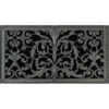 Magnetic Return Air Filter Grille in French Style Louis XIV 10x24