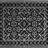 """Magnetic Return Air Filter Grille 20"""" x 24"""" in Pewter Finish"""