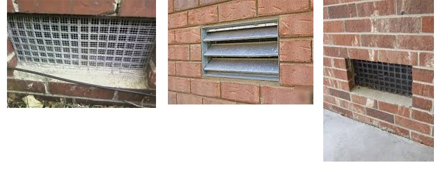 industrial foundation vent covers