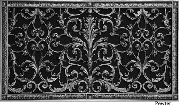 """Decorative Vent Cover French Style Louis XIV Grille Covers Duct 16""""×30"""""""