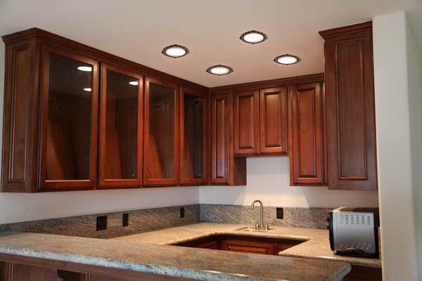 recessed lighting kitchen design with decorative recessed light trims