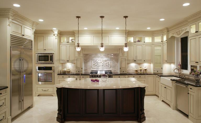 recessed lighting kitchen design