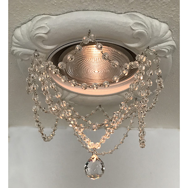 6″ Tuscany Recessed Light Chandelier #RC-108-swags-20mm