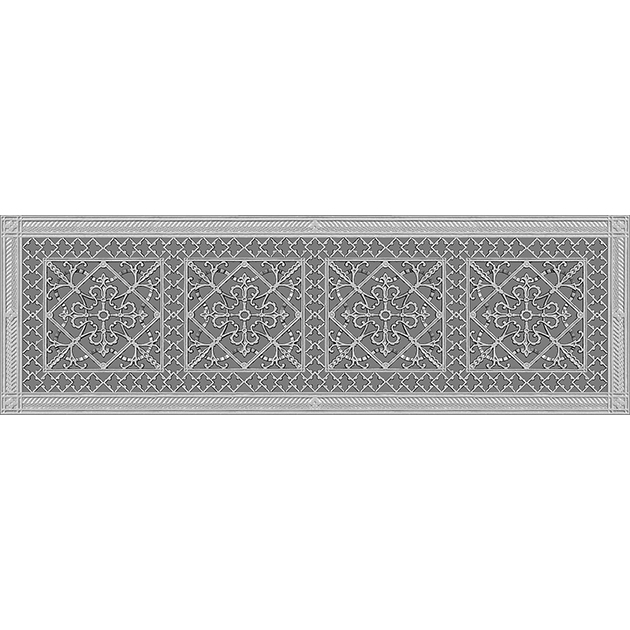"""Arts and Crafts Grille 10"""" x 36"""" rendering"""