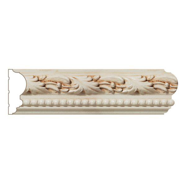 Running Leaf & Bead Panel Moulding #WM8533