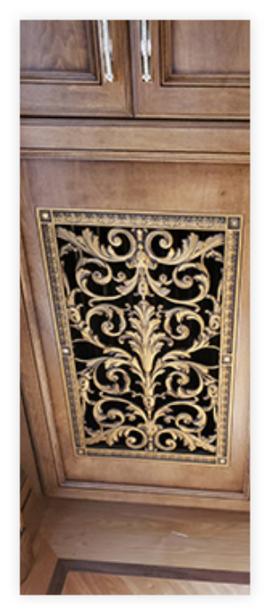 Louise XIV Style Radiator Cover Grille