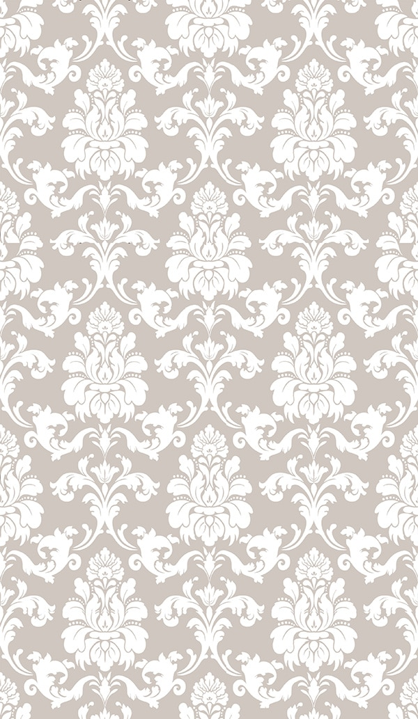 """Repositionable Wallpaper Oyster Damask 38"""" x 62"""""""