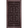 """Magnetic Return Air Filter Grille 30"""" x 14"""" in Rubbed Bronze Finish"""