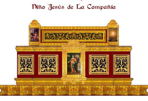 Altar Designed by the Brotherhood of the Holy Sepulcher