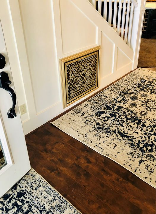 Return AIr Filter Grille in Arts and Crafts Style